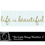 The Little Things WordArt 3 Freebie-$0.00 (Lasting Impressions)