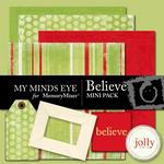 Believe Mini Pack-$2.00 (My Minds Eye)