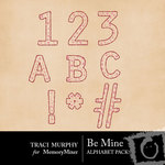 Be Mine Alphabet Pack TM-$0.99 (Traci Murphy)