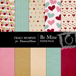 Be Mine Paper Pack TM-$3.49 (Traci Murphy)