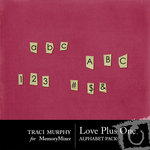 Love Plus One Alphabet Pack-$1.00 (Traci Murphy)