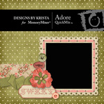 Adore QuickMix-$5.00 (Designs by Krista)