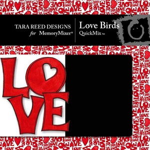 Love birds 1 medium