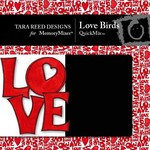 Love Birds QuickMix-$4.00 (Tara Reed Designs)