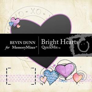 Bright hearts 1p001 medium