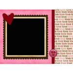 Love you valentine card p003 small