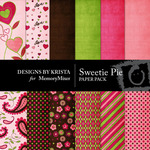 Sweetie Pie Paper Pack-$4.00 (Designs by Krista)