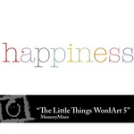 The Little Things WordArt 5 Freebie-$0.00 (Lasting Impressions)