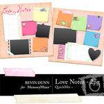 Love Notes 2 Page QuickMix-$2.50 (Bevin Dunn)