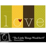 The Little Things WordArt 8 Freebie-$0.00 (Lasting Impressions)