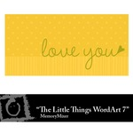 The Little Things WordArt 7 Freebie-$0.00 (Lasting Impressions)