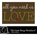 The Little Things WordArt 6 Freebie-$0.00 (Lasting Impressions)