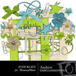 Andrew Embellishment Pack-$3.00 (Julie Klaus)