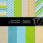 Andrew Paper Pack-$3.99 (Julie Klaus)