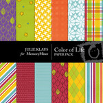 Color of Life Paper Pack-$4.00 (Julie Klaus)