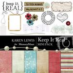 Keep It Real Mini Pack-$4.00 (Karen Lewis)