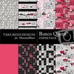 Bunco Queen Paper Pack-$4.00 (Tara Reed Designs)