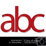 Color of Music Alphabet Pack-$1.00 (Julie Klaus)