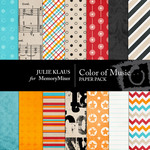 Color of Music Paper Pack-$3.99 (Julie Klaus)