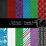 Family Fun Paper Pack-$4.00 (Julie Klaus)