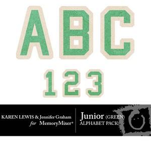 Junior green alpha medium
