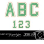 Junior Green Alphabet Pack-$0.99 (Karen Lewis)