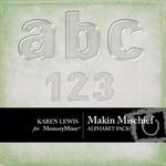 Makin Mischief Alphabet-$1.00 (Karen Lewis)