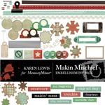 Makin Mischief Embellishment Pack-$3.00 (Karen Lewis)