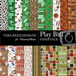 Play Ball Paper Pack-$3.99 (Tara Reed Designs)
