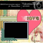 Valentines 2010 QuickMix-$3.99 (Bisous By Suzanne Carillo)