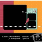 The Little Things March QuickMix-$3.00 (Lasting Impressions)