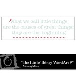 The little Things WordArt 9 Freebie-$0.00 (Lasting Impressions)
