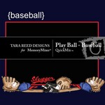 Play ball baseball qm small