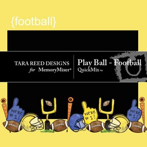 Play ball football qm medium