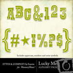 Lucky Me Alphabet Pack-$0.99 (Ettes and Company by Fayette)