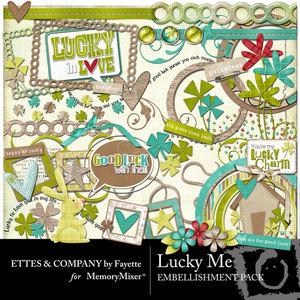 Luckymeembellishmentpack medium