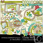 Lucky Me Embellishment Pack-$3.00 (Fayette Designs)