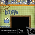 Dude QuickMix-$4.99 (Ettes and Company by Annette)