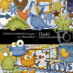 Dude Embellishment Pack-$3.50 (Ettes and Company by Annette)