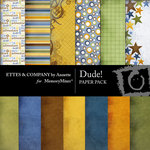 Dude Paper Pack-$4.00 (Ettes and Company by Annette)