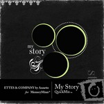 My Story QuickMix-$6.99 (Ettes and Company by Annette)