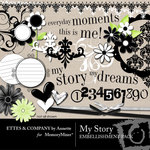 My Story Embellishment Pack-$2.99 (Ettes and Company by Annette)