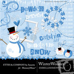 Winter Wonder Embellishment Pack-$3.00 (Ettes and Company by Annette)