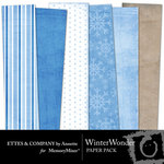 Winter Wonder Paper Pack-$3.00 (Ettes and Company by Annette)