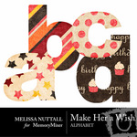 Make Her a Wish Alphabet Pack-$1.00 (Melissa Nuttall)