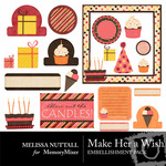 Make Her a Wish Embellishment Pack-$3.00 (Melissa Nuttall)