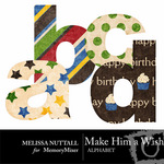 Make Him a Wish Alphabet Pack-$1.00 (Melissa Nuttall)