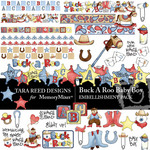 Buck A Roo Baby Boy Embellishment Pack-$3.50 (Tara Reed Designs)