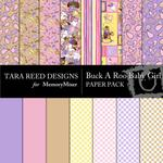 Buck A Roo Baby Girl Paper Pack-$4.00 (Tara Reed Designs)