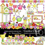 Garden Chick Embellishment Pack-$3.49 (Tara Reed Designs)